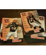 2010 DAV CINCINNATI BENGALS TEAM ISSUE PHOTO CARD SET OF 11 WHITWORTH DU... - $39.99