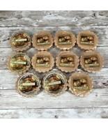 Yankee Candle Tarts: Vanilla Caramel Wax Melts Lot of 10 Brown New - $21.73