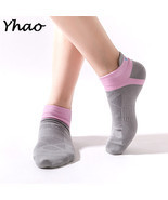 Yoga Socks Anti-SlipSoft Fitness Breathe Seamless Toe Closure - £13.65 GBP