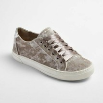 Brand New DV Women Velour Lace Up Gina Grey Casual Sneakers Shoes
