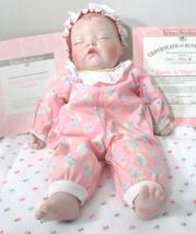 Vintage Ashton Drake Rock-A-Bye Life Like Porcelain Baby Doll w/ COA - $112.50