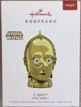 Hallmark 2018 Star Wars™ C-3PO™ Ornament with Light and Sound - MIP - $19.95