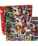 Marvel Character Panels 500-Piece Jigsaw Puzzle Multi-Color - $27.98