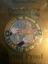 2000 DISNEYANA PIN TRADING - A YEAR TO REMEMBER - LIGHT BLUE -  ARTIST P... - $19.99