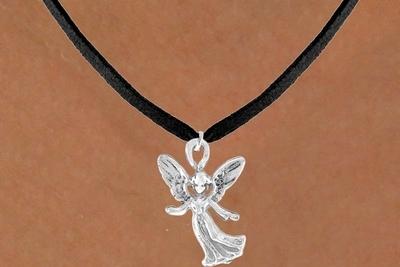 Happy ANGEL charm NECKLACE
