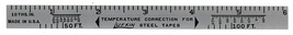 Lafkin steel tapes vintage advertising ruler tools - $9.99
