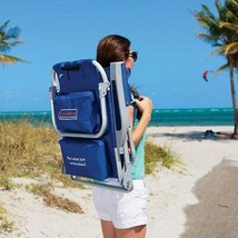 Tommy Bahama Backpack Beach Chair | Color: Blue | No Tax Most States - $51.43