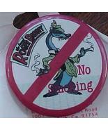 Disney Roger Rabbit No Smoking Pinback  - $4.99