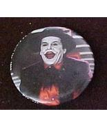 Batman Joker DC Comics Jack Nicholson Orange Shirt 1989 Pinb - $2.99