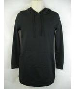 Fabletics Black Hoodie Hooded Yukon Sweatshirt Dress XS/4 NWT - $39.59