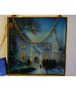"AVON Thomas Kinkade Art Catcher ""Evening Carolers""  - $9.99"