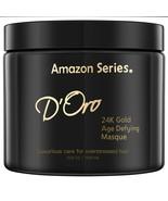 NEW!! (1) Amazon Series D'Oro 24K Gold Bhasma Masque Age Defying Keratin... - $38.21