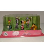 MINNIE MOUSE DISNEY JUNIOR FIGURINE PLAYSET 6 Play Toys Action Figures A... - $24.46