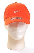 Nike Orange Adjustable Cotton Baseball Cap Hat Men's One Size NWT - $18.55