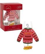 New Hallmark Christmas Seinfeld Festivus for the Rest of Us Sweater Ornament - $14.99