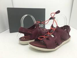 Red Morillo Flats Bluma 9 US 40 Toggle Sandal EU 5 Women's Sandals 9 Beat ECCO 4UqXpZ