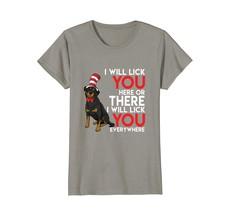 Sweet Licks Of Rottweiler T-Shirt Cute Rottie Lover tee gift - $19.99+