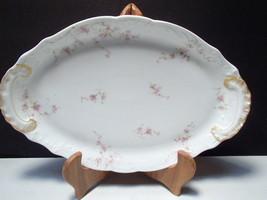 Theodore Haviland Limoge France Oval Serving Platter - $14.95