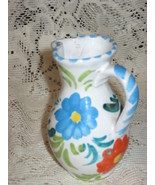 Small Pitcher/Creamer-Hand-Painted-Italy - $8.00