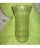 Hoosier- Glass Vase-Clear-Banded-#4088-C- 8.75 in - USA - $9.00