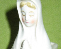 Blessed Mother Bud Vase
