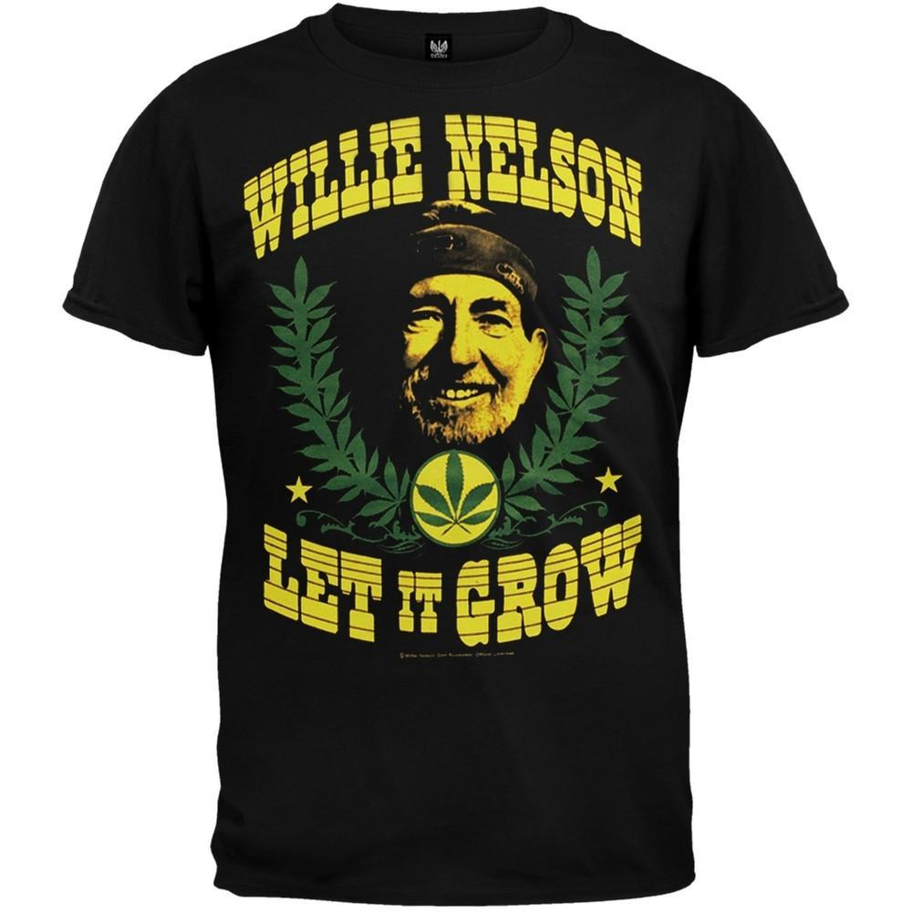 Primary image for Willie Nelson - Let It Grow T-Shirt