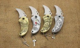 Multi-Function Metal Smoking Lighter with Knife Knives Butane Lighters - One Lig