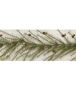 Rustic Holiday Cypress Pine Garland - 6ft - $59.99