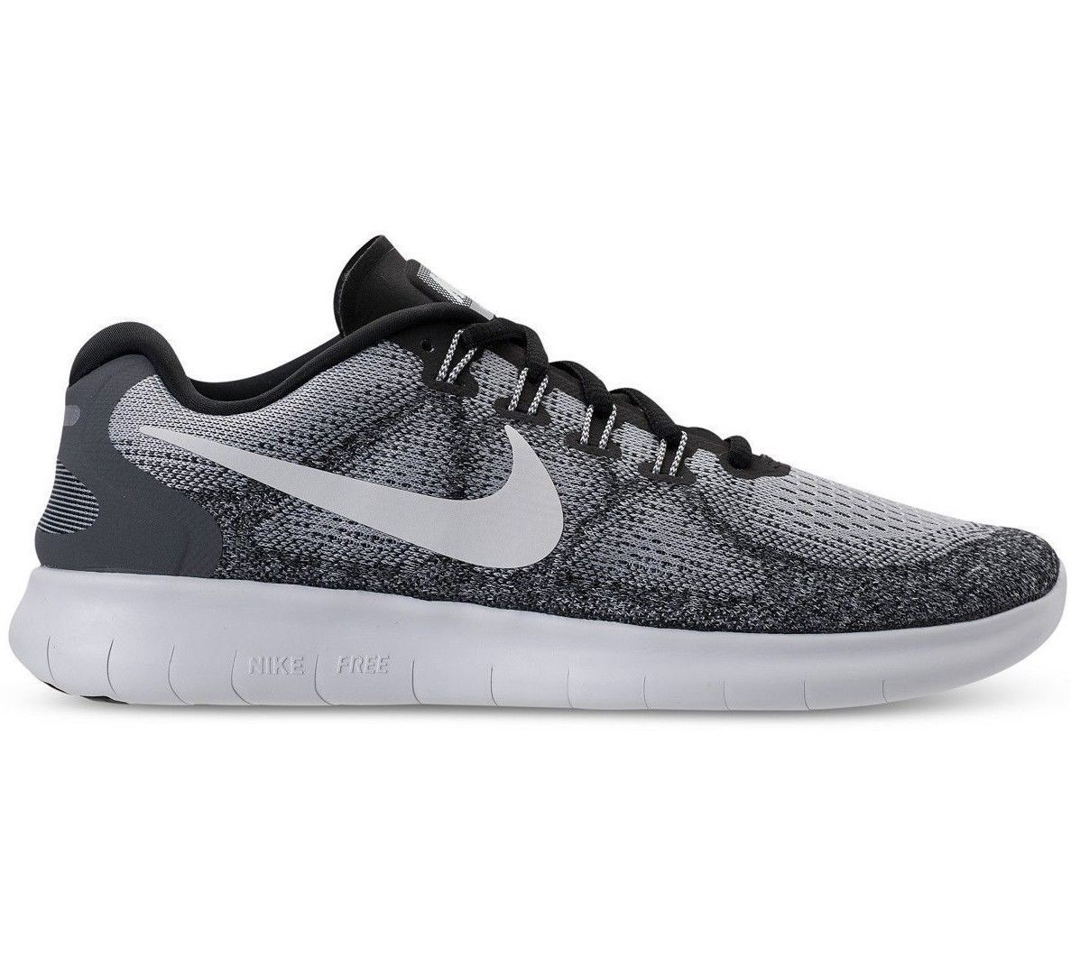 Primary image for Nike Free RN 2017 Wolf Grey Off White Running Mens Shoes 880840-002