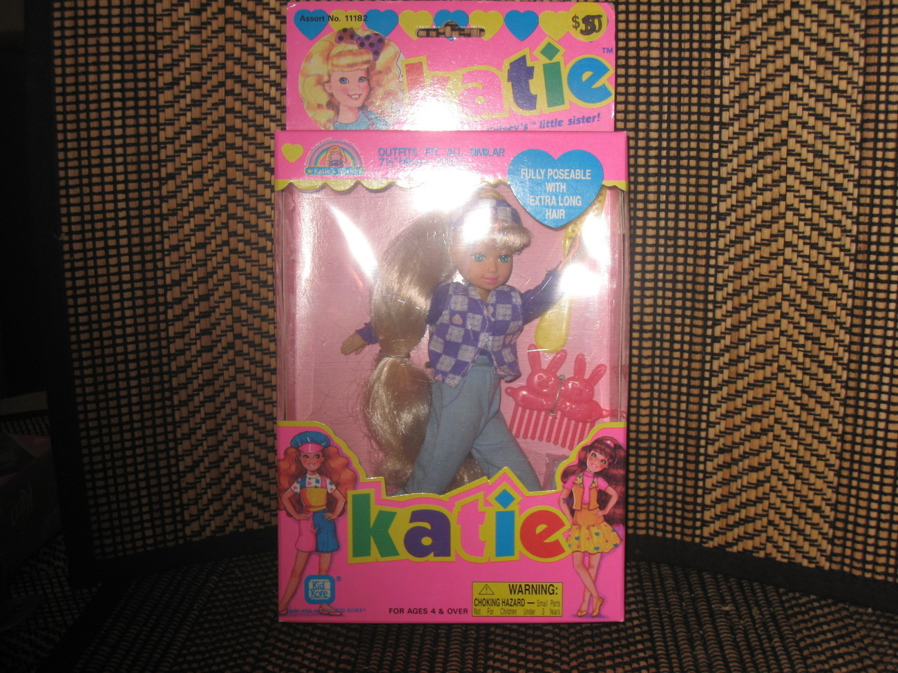Katie, Kelsey's Little Sister, by Kid Kore, 1994