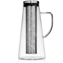 Large Cold Brew Coffee Maker, 1.5L/48oz Premium Quality Glass Carafe wit... - $32.70