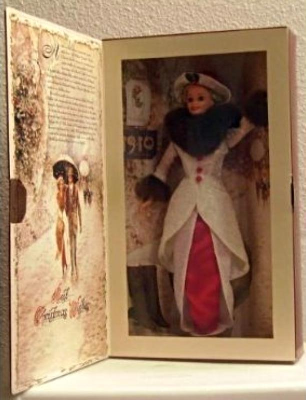 1995 Special Hallmark Edition Holiday Memories Barbie, by Mattel, original 1995