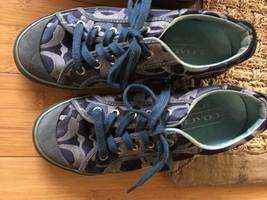 COACH Blue Barrett Fashion Sneakers Womens Size 7.5  Pre-owned - $32.00