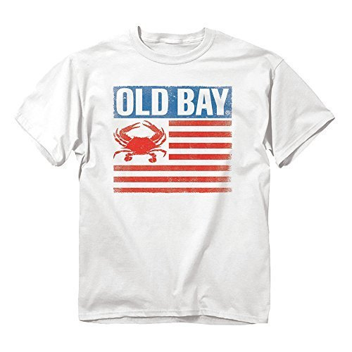Primary image for Maryland My Maryland Men's Officially Licensed Old Bay Grunt Flag T-Shirt (XX-La