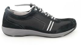 Dansko Helen Suede Sneakers  Black/ White Women's Size  41 () - $55.78