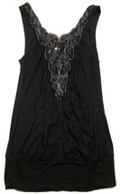 Urban Outfitters Lux Banded Tunic Top / Mini Dress Tank Top Sequin Chest... - $17.80