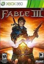 Fable III (Microsoft Xbox 360, 2010)M - $5.91