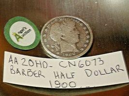 Barber Half Dollar 1900 AA20HD-CN6073 image 5