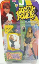 1999 Austin Powers Felicity Shagwell Action Figure CARE FOR A RIDE New M... - $7.82