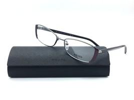 Prada Metal Silver Purple Eyeglasses Vpr 58Q Gaa 1O1 53 Mm Case Not Included - $87.27
