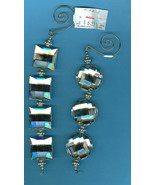Crystal  Christmas  Dangle Ornaments A - $9.00