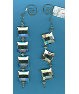 Crystal  Christmas  Dangle Ornaments  B - $9.00