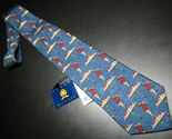 Tie tommy hilfiger blue with golfer new with tags 01 thumb155 crop