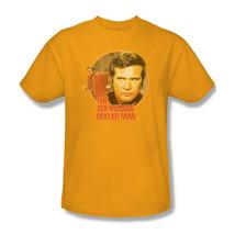 The Six Million Dollar Man Colonel Steve Austin Retro 70s graphic tee NBC526 image 1