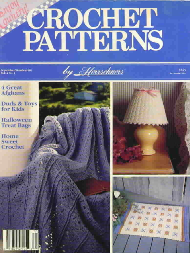 Crochet patterns by herrschners vol 4 no 5 1990