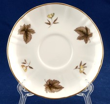 Royal Worcester Dorchester Saucer Flat Used Bone China - $5.00