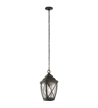 Kichler 49844OZ Tangier Outdoor Pendant 10in Olde Bronze Aluminum 1-light - $229.99