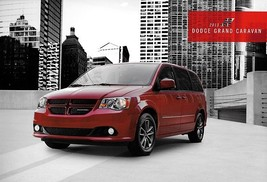 2013 Dodge GRAND CARAVAN sales brochure catalog 13 AVP SE SXT Crew R/T - $6.00