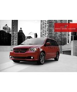 2013 Dodge GRAND CARAVAN sales brochure catalog 13 AVP SE SXT Crew R/T - $6.00