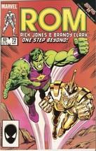 ROM: Spaceknight #72 November 1985 [Comic] by Bill Mantlo; Steve Ditko - $9.99